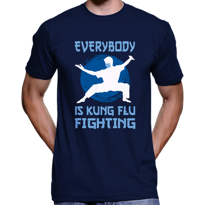 Everybody Is Kung Flu Fighting Coronavirus T-Shirt