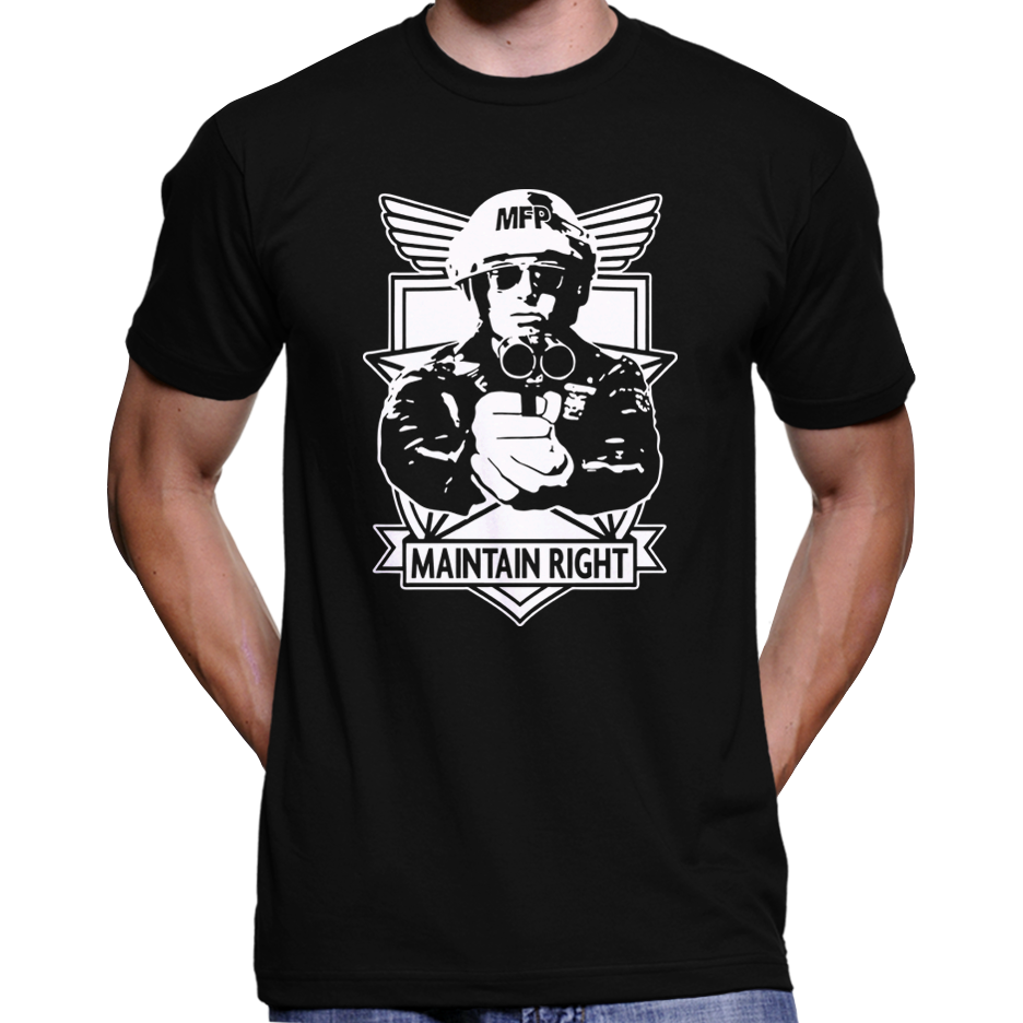 Mad Max Main Force Patrol Maintain Right Badge T-Shirt / Hoodie