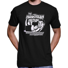 Anti Mainstream Media T-Shirt / Hoodie