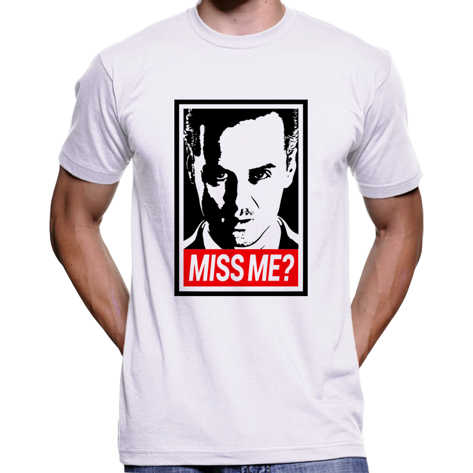 "Jim Moriarty ""Did You Miss Me?"" Sherlock Holmes T-Shirt / Hoodie"
