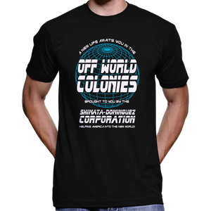 Blade Runner Off World Colonies T-Shirt / Hoodie