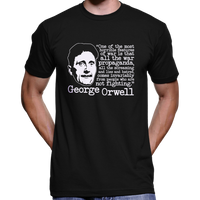 "George Orwell ""All The War Propaganda"" Quote T-Shirt / Hoodie"