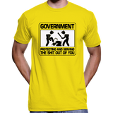 Government: Protecting And Serving... T-Shirt