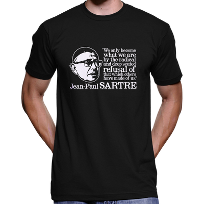 Jean Paul Sartre T-Shirt