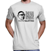 "Jean Paul Sartre T-Shirt ""We Only Become What We Are"" Quote"