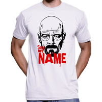 "Breaking Bad ""Say My Name"" T-Shirt (Heisenberg / Walter White)"