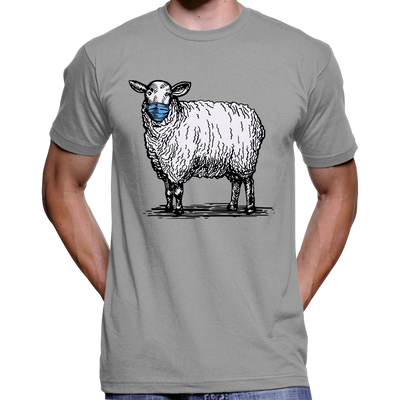 Masked Sheep Anti Face Mask T-Shirt