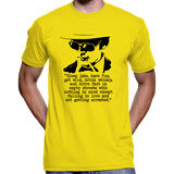 "Hunter S. Thompson ""Sleep Late, Have Fun"" Quote T-Shirt"