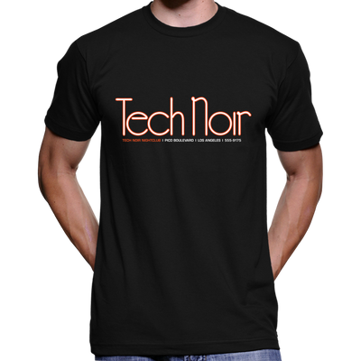 Tech Noir Nightclub Logo T-Shirt / Hoodie (The Terminator)