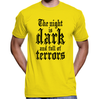 "Game Of Thrones ""The Night Is Dark And Full Of Terrors"" T-Shirt / Hoodie"