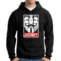 Guy Fawkes Mask Disobey T-Shirt / Hoodie (V For Vendetta)