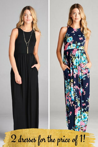 **2 for 1 DRESS BUNDLE** (size xlarge)