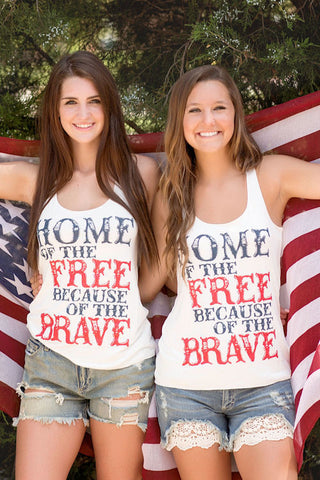 Home Of The Free Tank Top