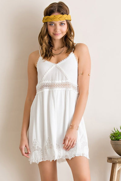 Seeing is Believing Dress (White)