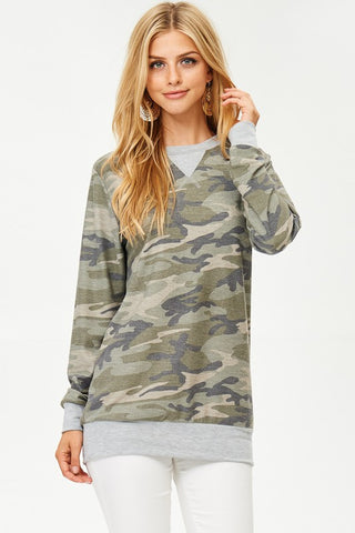 Meant to Be Camo Tunic