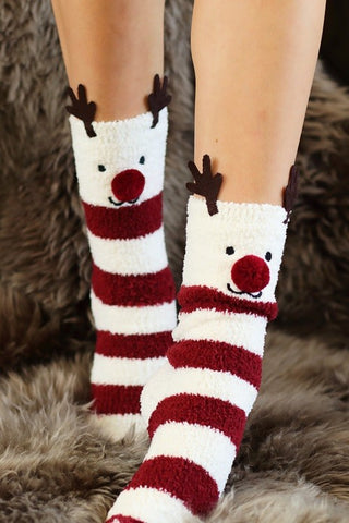 Rudolph Sleep Socks