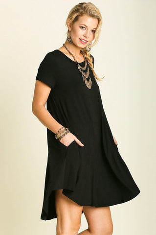 UMGEE-No Limits Jersey Knit Dress (Black)