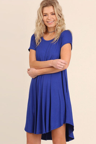 UMGEE-No Limits Jersey Knit Dress (Cobalt)