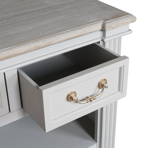Four Drawer Dove Grey Unit