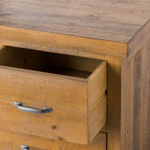 Solid Pine Nine Drawer Chest Of Drawers