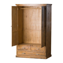 Load image into Gallery viewer, Solid Pine Wardrobe