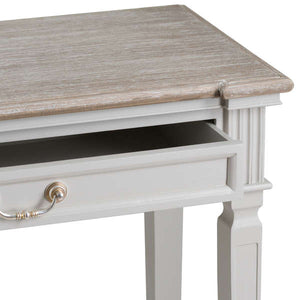 Grey Hall Table with Drawers