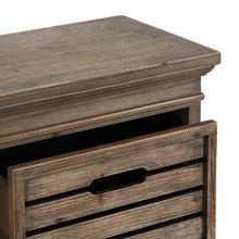 Load image into Gallery viewer, Distressed Pine Two Drawer Chest