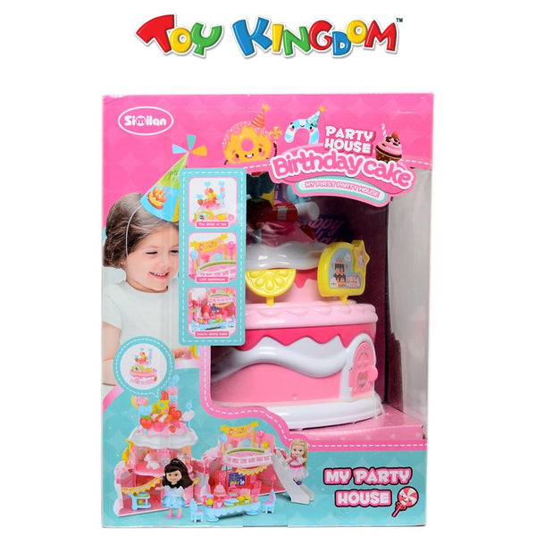 Party House Birtday Cake Playset for Girls