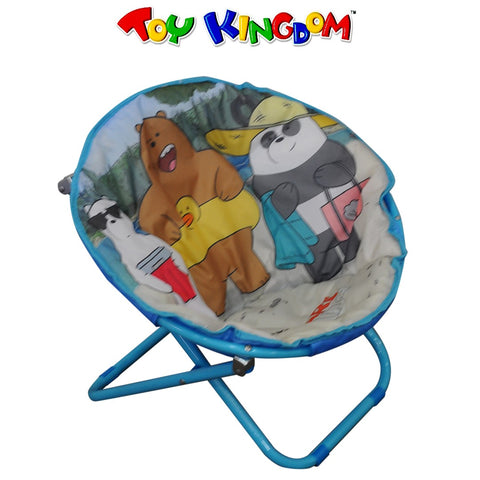 We Bare Bears Moon Chair for Kids