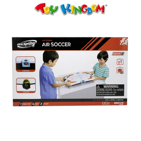 Innov8 Sports Air Spring Air Soccer Tabletop Game for Kids