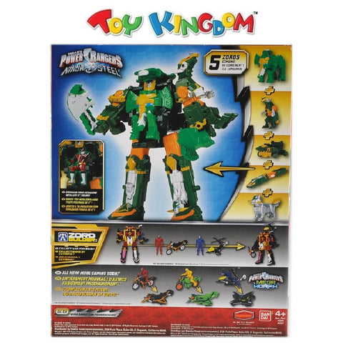 Saban's Power Rangers DX Rumble Tusk Megazord Figure for Boys