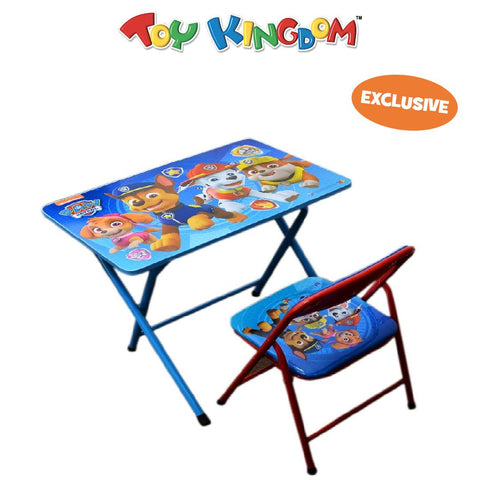 Paw Patrol Metal Kiddie Table and Chair for Kids