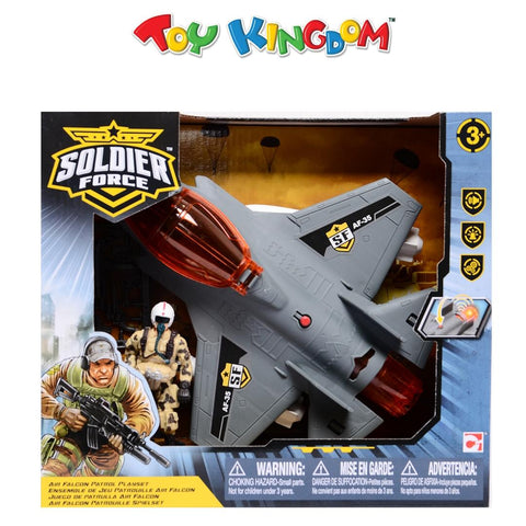 Soldier Force Air Falcon Patrol Playset for Boys