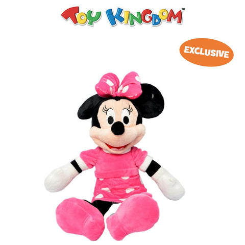 Disney Minnie Mouse 14-inch Plush Pink