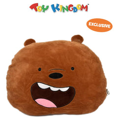 We Bare Bears Grizz 12  Head Cushion