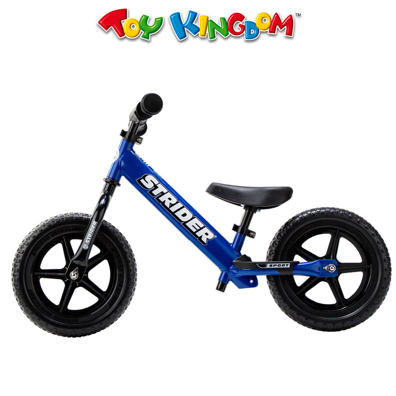 Strider 12-inch Sport Bike-Blue for Kids