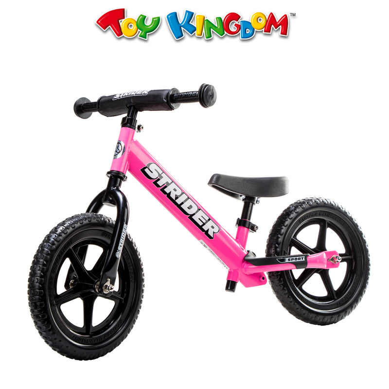Strider 12-inch Sport Bike-Pink for Kids