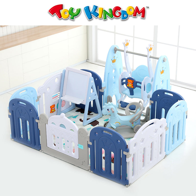 Complete Playpen Set - Blue- Toy for Boys