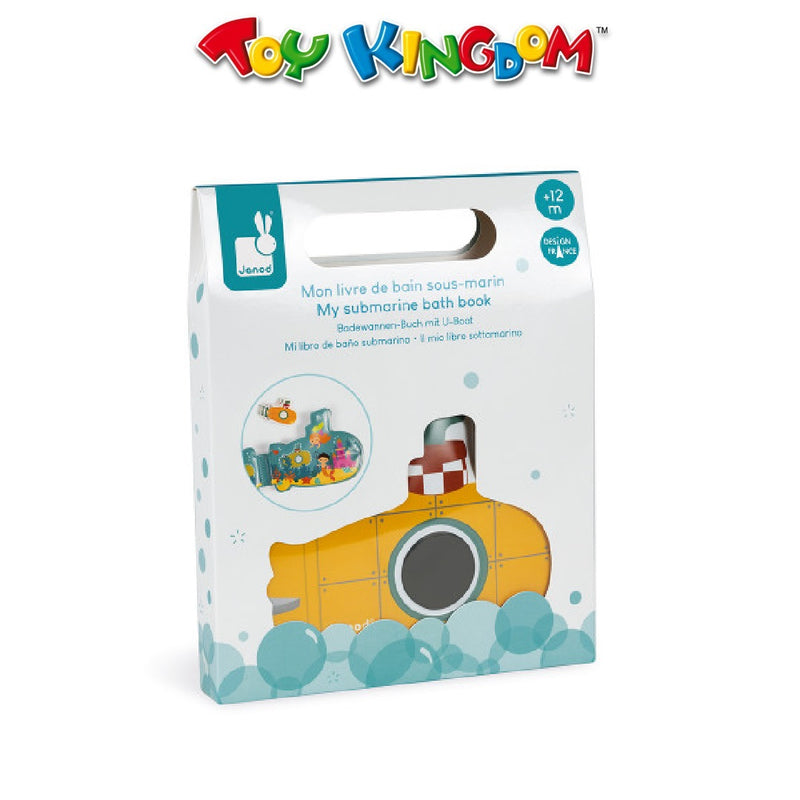 Janod My Submarine Bath Book For Kids