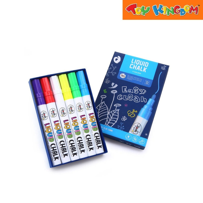 Joan Miro Liquid Chalk Markers-6 Colors