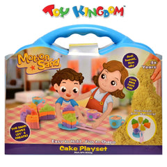 Motion Sand Deluxe Box Cake Playset