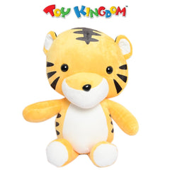 Safari Tiger Plush Toy for Kids