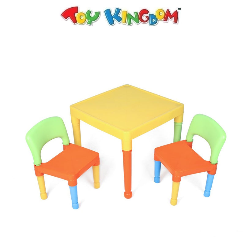 2 in 1 Kiddie Plastic Table and Chair Set