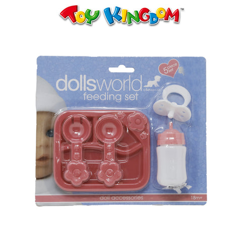 Dolls World Classic Feeding Set 5pcs for Girls