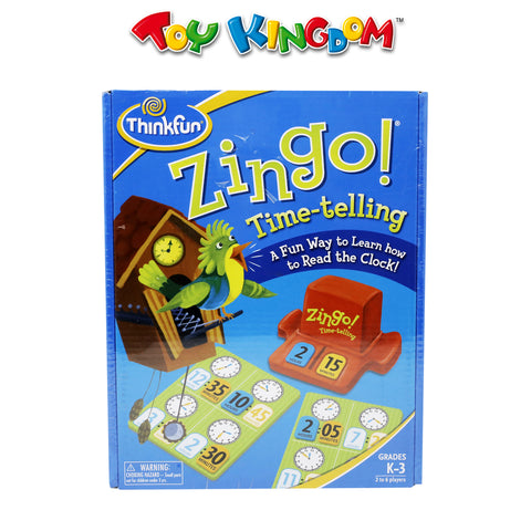 Think Fun Zingo! Time Telling Game for Kids