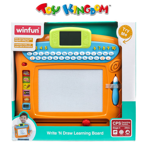 Winfun Write 'N Draw Learning Board for Toddlers