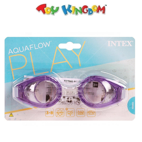 Intex Aquaflow Play Goggles (Violet) for Kids