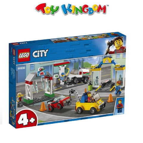 LEGO® City Town 60232 Garage Center, Age 4+, Building Blocks (234pcs)