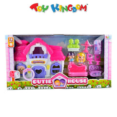 Cutie House Playset for Girls