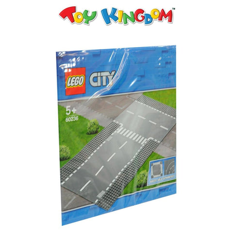 Lego City Straight and T-Junction
